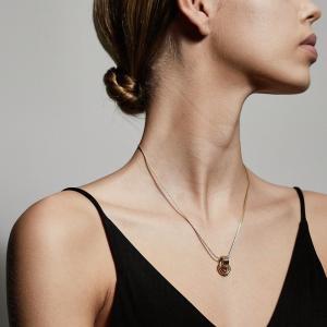 Halsband Doris Guldpläterat – Pilgrim