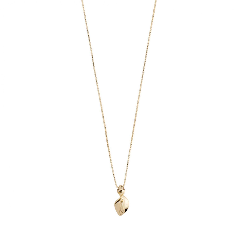 Halsband Hollis Guldpläterat – Pilgrim