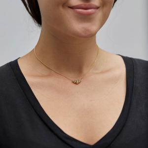Halsband Meg Guldpläterat – Pilgrim