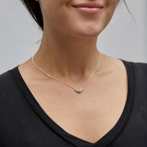 Halsband - Meg, Silverpläterad – Pilgrim