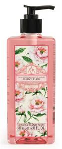 Peony Plum, Pion, Handtvål med pump (AAA)
