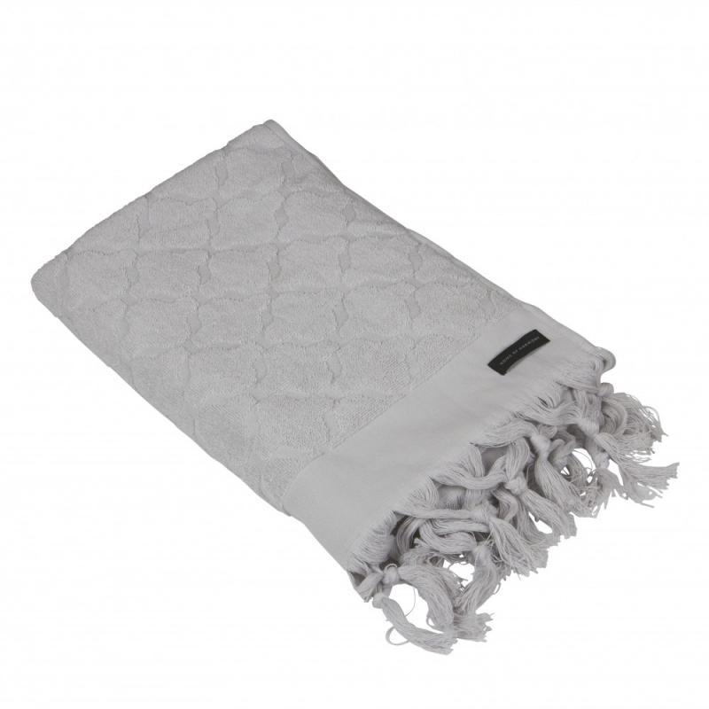 Handduk ljusgrå, 50x70 cm