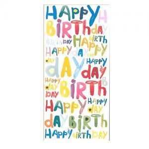 Happy Birthday Ljus Choklad