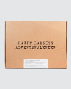 Lakritskalender - Haupt lakrits     KOMMER I OKT