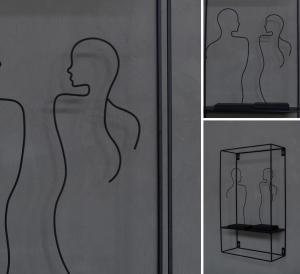 Hon, svart dekoration Siluett- Storefactory