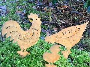 Rostig kyckling Blixten - på pinne