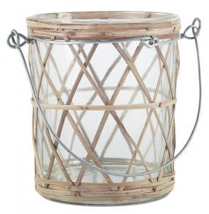 Ib Laursen, Lykta för värmeljus med flätad bambu