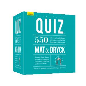 Jippijaja Quiz, Mat & Dryck - Sällskapsspel