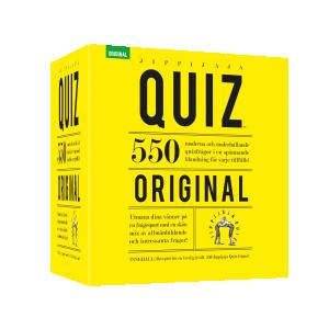 Jippijaja Quiz, Original - Sällskapsspel