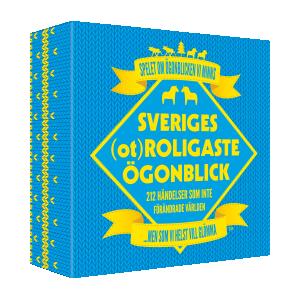 Sveriges (o)roligaste ögonblick - Sällskapsspel
