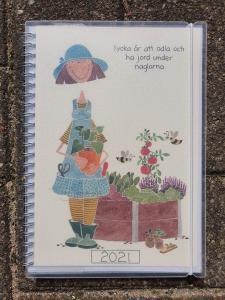 Kalender 2021 (A5) - Lycka är att odla...
