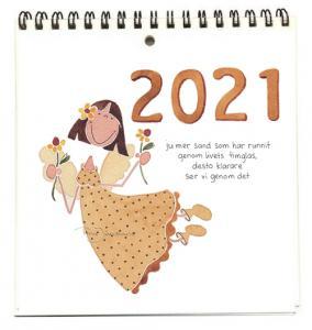 Almanacka 2021 - Gul ängel