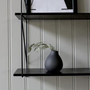 Källa Vas Liten hög mörkgrå - Storefactory