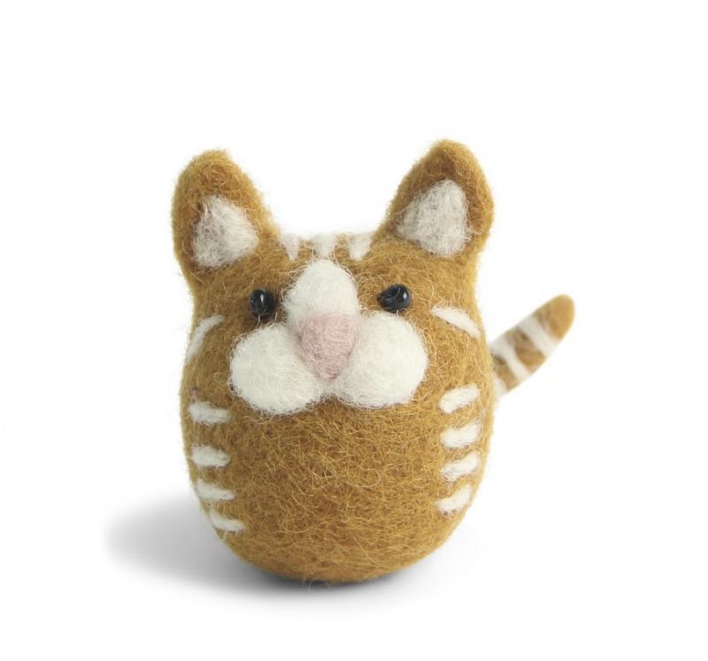 Katt, gulrandig tovad - En Gry & Sif