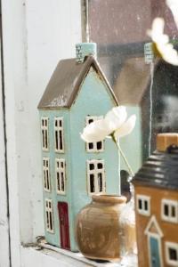 Keramikhus för värmeljus, Nyhavn 2766 - Ib Laursen - I lager mitten av dec -