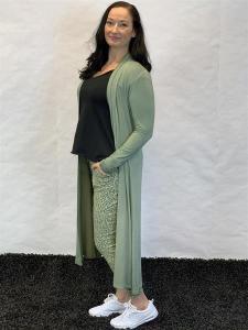 Kimono, grön (Linn) - Mix by Heart