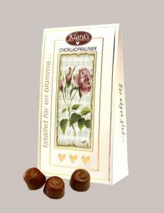 Istället för en blomma - Chokladpraliner