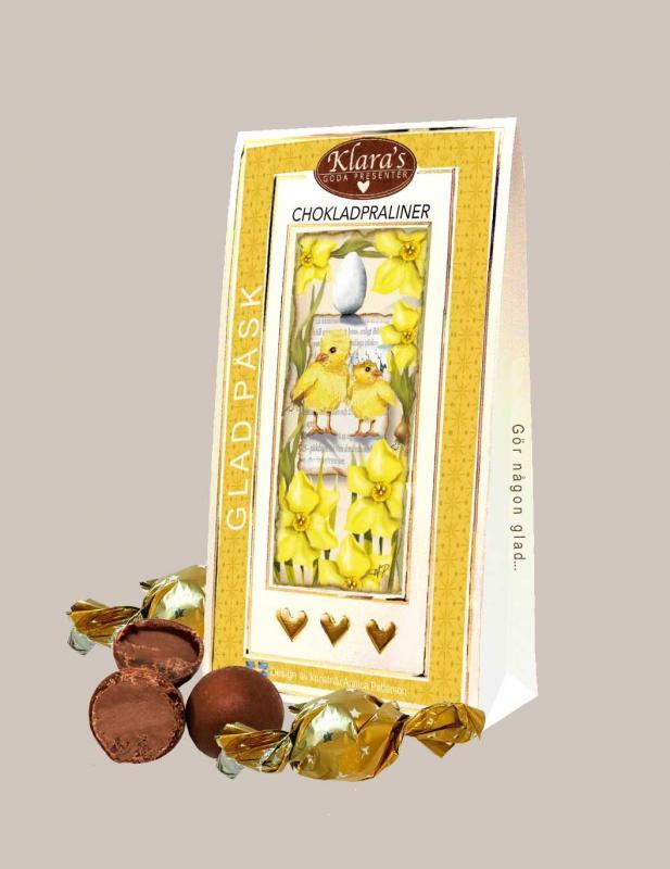 Glad Påsk - Chokladpraliner