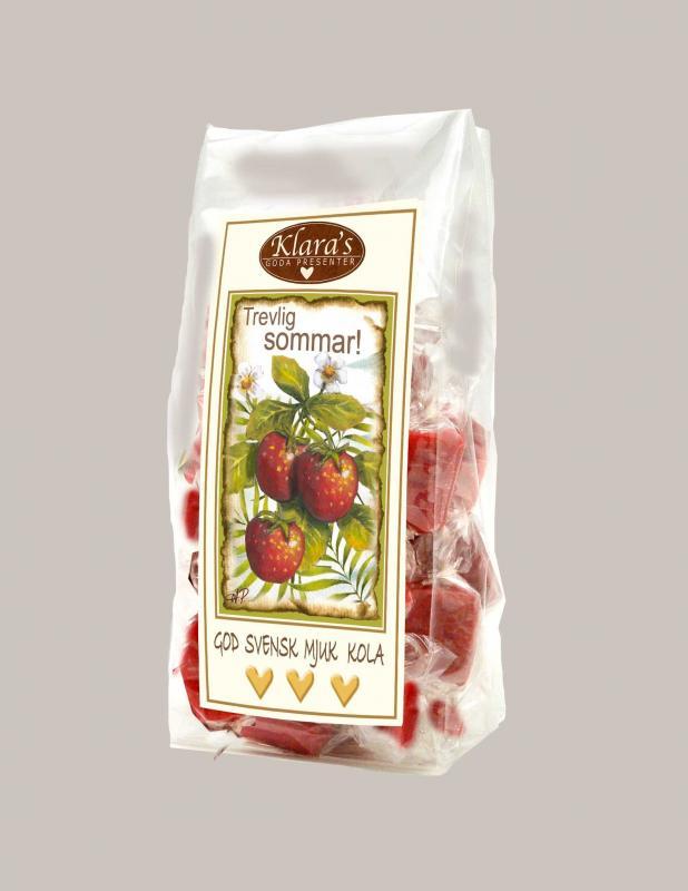 Jordgubbskolor/fudge - Sommar