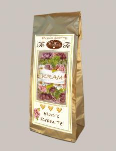 Te - Kram (Rabarber/Grädde)