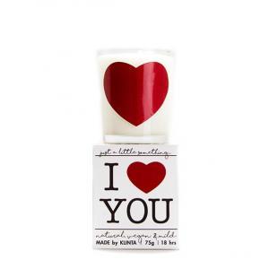 "Klinta, ""I love you"""