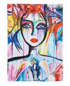 Kökshandduk Slice of Life (färg, 2-pack) Carolina Gynning