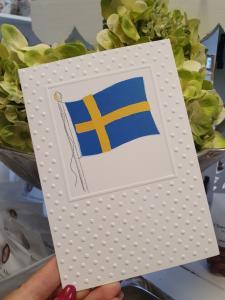 Svenska flaggan - kort från Pictura