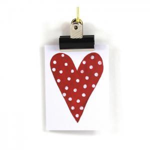 Kort Hjärta - Anneko Design
