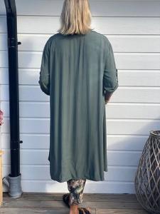 "Armygrön långskjorta ""Ada"" - Gemini"
