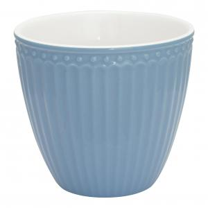 Lattemugg Alice sky blue - Greengate