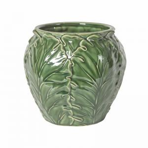 Eklaholm Kruka Lègume 20 cm, Grön keramik - I AM INTERIOR        KOMMER I DEC