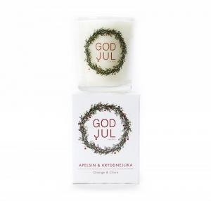 Klinta, Lilla Doft- och massageljuset - Apelsin & Kryddnejlika (GOD JUL)