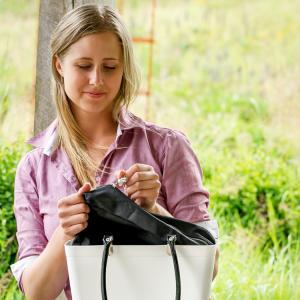 Perstorps Innerväska Exklusiv - till liten väska (Sweden Bag) - Svart