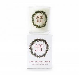 Klinta, Lilla Doft- och massageljuset - Guld, rökelse & myrra (GOD JUL)