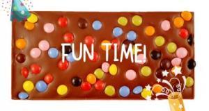 Fun Time, Mjölkchoklad 40% - Pralinhuset
