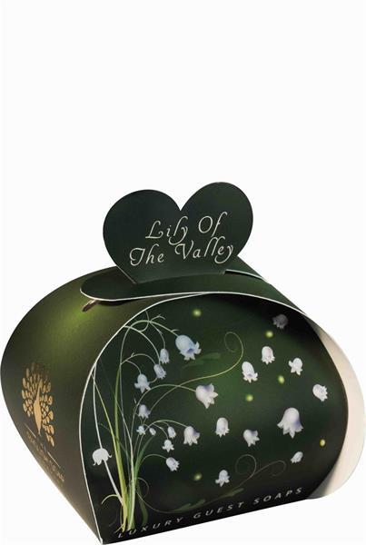 Hjärtformade småtvålar, Lily of the Valley