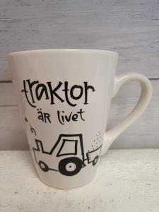 Traktor är livet - Mugg från Lyckliga L8