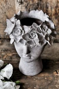 Maja - Madame Floral kruka (Förboka lev februari/mars)