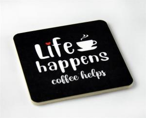 "Magnet ""Life happens.."" - Mellow Design"