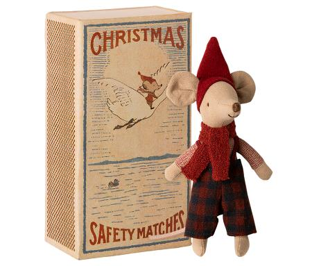 CHRISTMAS MOUSE IN BOX - BIG BROTHER (Maileg)