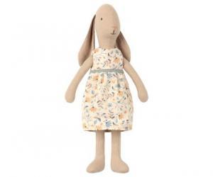 Bunny Kanin med blommig klänning, Size 2 - Maileg