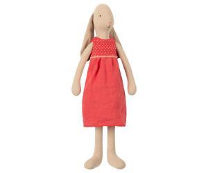 Maileg, Bunny Kanin med röd klänning, Size 3