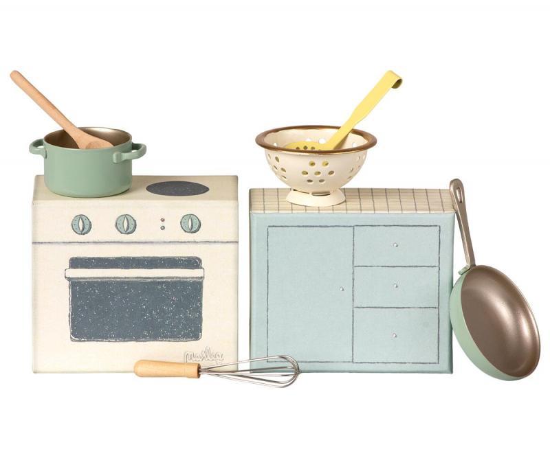Maileg, Cooking set / matlagningsset
