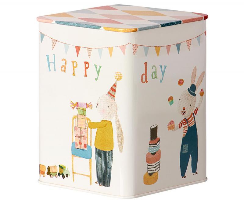 Maileg, Plåtlåda - Happy Days