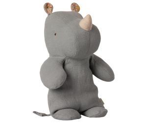 Maileg, Safari Friends, Medium Noshörning Blå grå (Kommer i feb)
