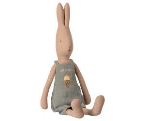 Maileg, Rabbit Kanin med hängslebyxa, Size 4