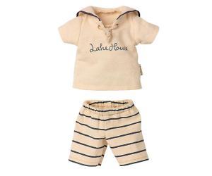 Maileg, Bårandiga Sjömanskläder Storlek 2 (Kommer i april)