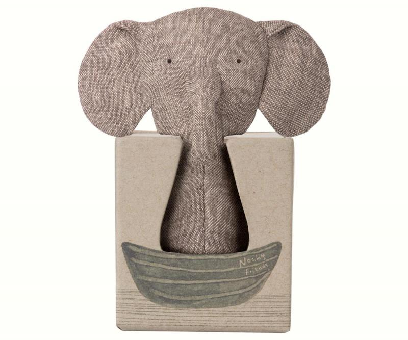 Maileg, Noah´s friends Elephant rattle / Skallra elefant