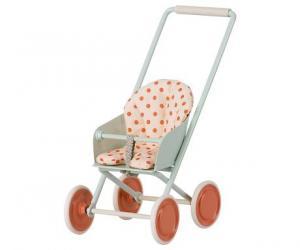 Stroller, Micro - Sky blue (Maileg)    KOMMER I SEP