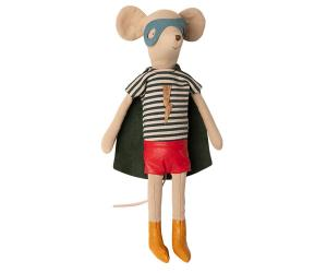 Maileg, Super hero mouse, medium boy